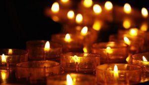 candles and faith