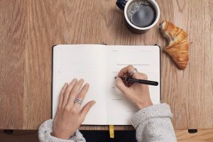 writing a list for estate planning