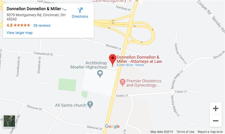 Donnellon Donnellon and Miller Map